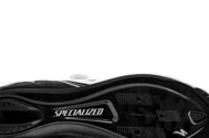 detail of the carbon sole of the Specialized expert pro carbon road cycling shoe on a white studio backdrop
