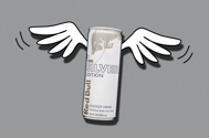 can of lime flavored Red Bull Silver Edition